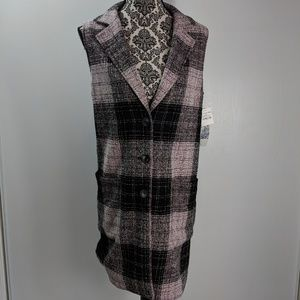 14th & Union dress size S lined pockets buttons